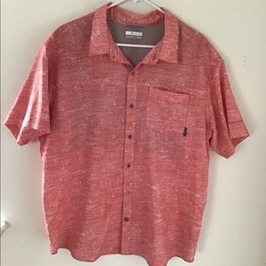 🔨FIRM PRICE - Columbia Omni-Wick Campfire Shirt